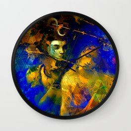 Shiva The Auspicious One - The Hindu God Wall Clock