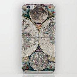 Atlas Maritimus - Vintage World Map iPhone Skin