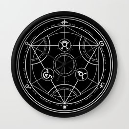 Pentagram Wall Clock