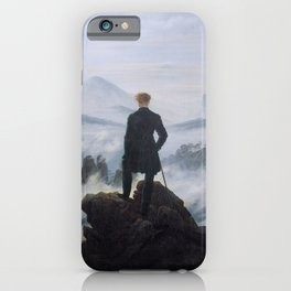 Wanderer Above the Sea of Fog iPhone Case