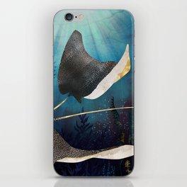 Metallic Stingray iPhone Skin