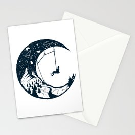 Climber's Sky | Rock Climbing Stationery Cards