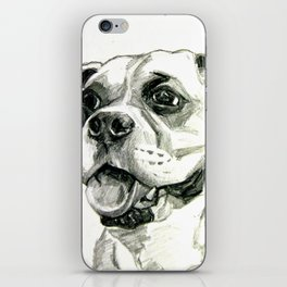 Smiling Boxer Boy Oscar iPhone Skin