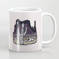 arizona Mugs featuring Arizona by WEAREYAWN