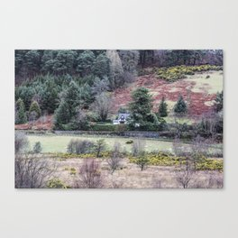 Travel to Ireland: A Country Home Canvas Print