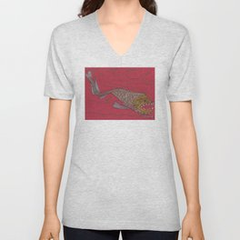 Dragon Fish Unisex V-Neck