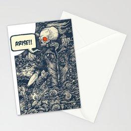 Sekutu debu Stationery Cards