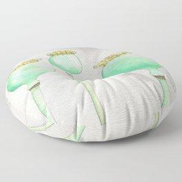 Four Poppy Pods Floor Pillow