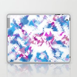 Abstraction . Colorful brush strokes. Laptop & iPad Skin