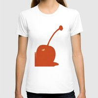 cherry T-shirts featuring cherry by cubik rubik