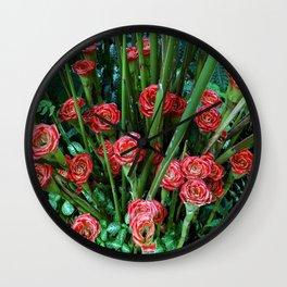 Fleurs d'été... Wall Clock