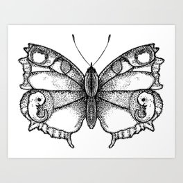 Born as a Butterflie Art Print