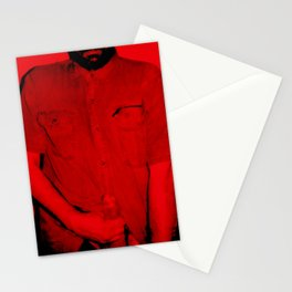 Here I Am-red Stationery Cards