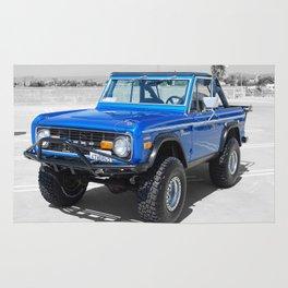 Bronco Blue Rug