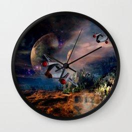 Planetary Encounter Wall Clock