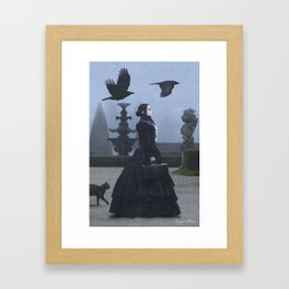 Lady Charlotte Nightshade Framed Art Print