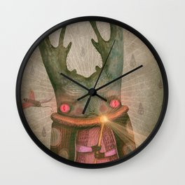 The Antler King Wall Clock