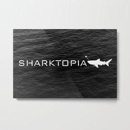 Sharktopia - 2018 Logo Metal Print