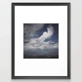 Rain in San Francisco Framed Art Print