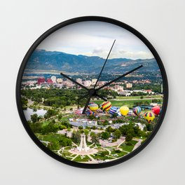 Colorado Springs Feat. The 2018 Labor Day Liftoff Wall Clock