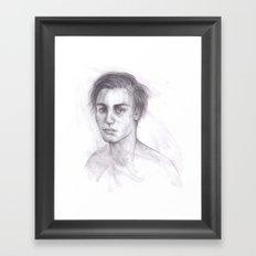 Roughly Handled Framed Art Print