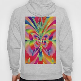 Butterflies Colorful Rainbow Spectrum Hoody