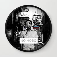 childish gambino Wall Clocks featuring Childish Gambino - You See Me! by blugge