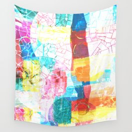Shattered Rainbows Wall Tapestry