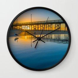Hopeful Sunrise Wall Clock