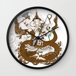 Garnesha Mash Up Wall Clock