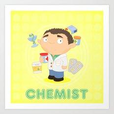 CHEMIST Art Print