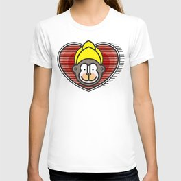 Indian Monkey God Icon T-shirt