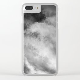 Brewing Storm V Clear iPhone Case