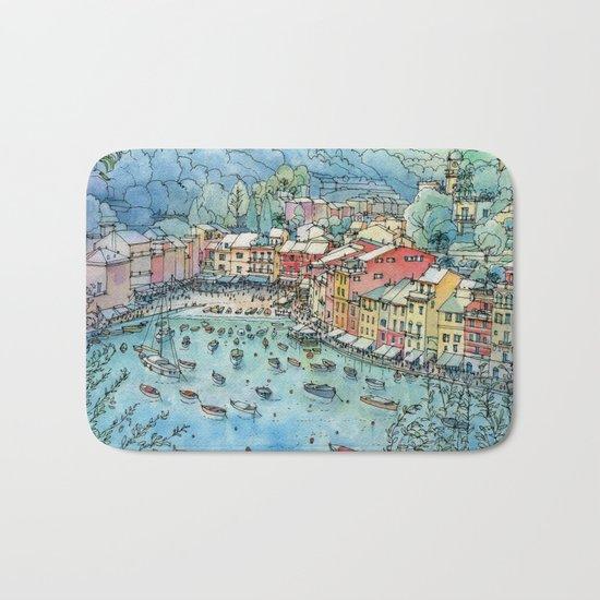 Portofino, Italy Bath Mat