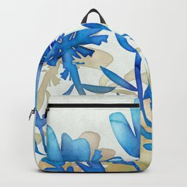 Wispy Lily Blue Backpack