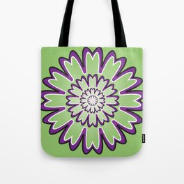 Focusing Mandala - מנדלה התמקדות Tote Bag