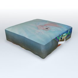 All Wound Up Outdoor Floor Cushion