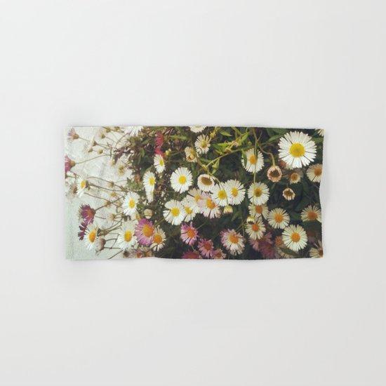 Wall of Daisies Hand & Bath Towel