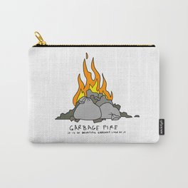garbage fire Carry-All Pouch