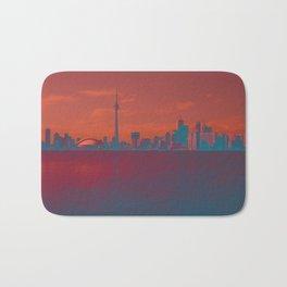 CN Tower skyline Bath Mat