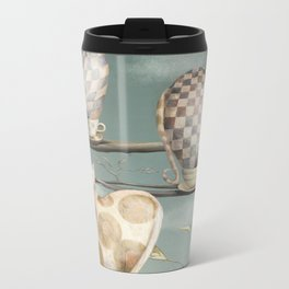 Cats in Cups Metal Travel Mug