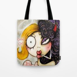 Good Girl Bad Girl Tote Bag
