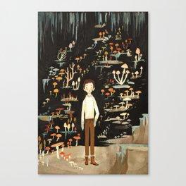 Ivo & His Mushrooms Canvas Print
