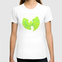 lime green T-shirts featuring Lime Wu by kiveson