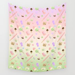 Japanese Candy Wall Tapestry
