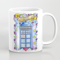 Doctor Who TARDIS Allons-y! Coffee Mug