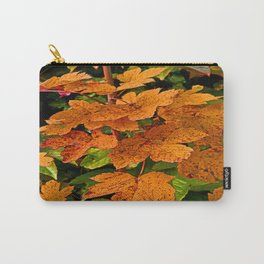 glowing autumn leafs Carry-All Pouch