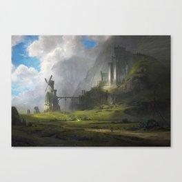 Ventus Castle Canvas Print