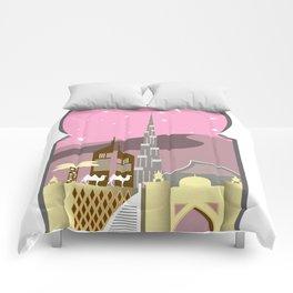 Pink Dubai Comforters