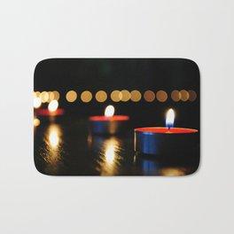 Candles Bath Mat